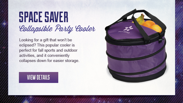 Space Saver - Collapsible Party Cooler with your logo