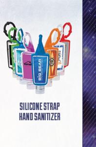 Silicone Strap Hand Sanitizer