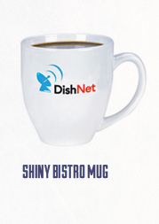 Shiny Branded Bistro mug is the hottest style today