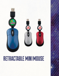 Retractable Mini Mouse