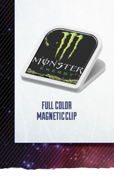 Full Color Magnet Clip - go big with a large full color imprint area