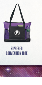 Zippered Convention Tote - go upscale with style on a minimal budget